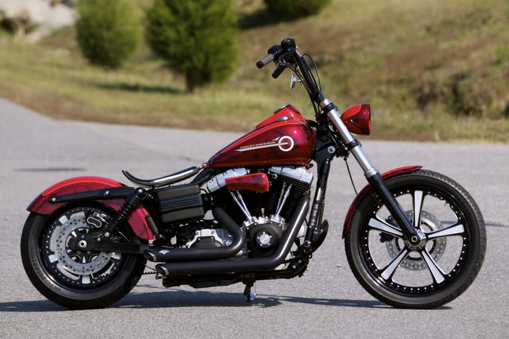 Dyna with shorties and nice wheels
