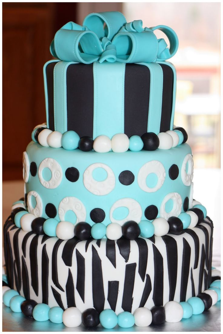 26 Awesome 3 layered birthday cakes images