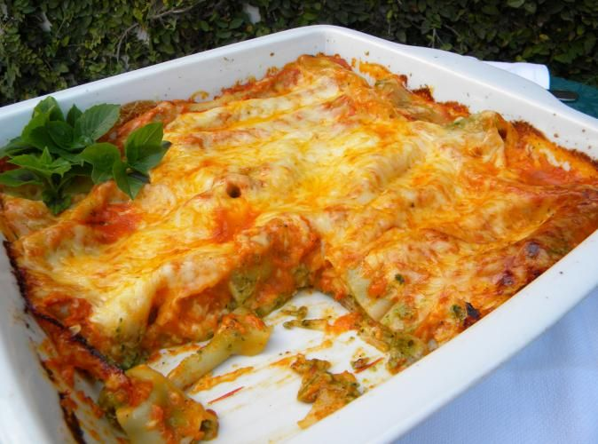 Chicken and Spinach Cannelloni image 1