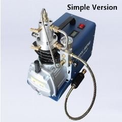 [ $15 OFF ] 300BAR 30MPA 4500PSI High Pressure PCP Air Pump Water Cooling Electrical Mini Air Compressor (Simple Version)