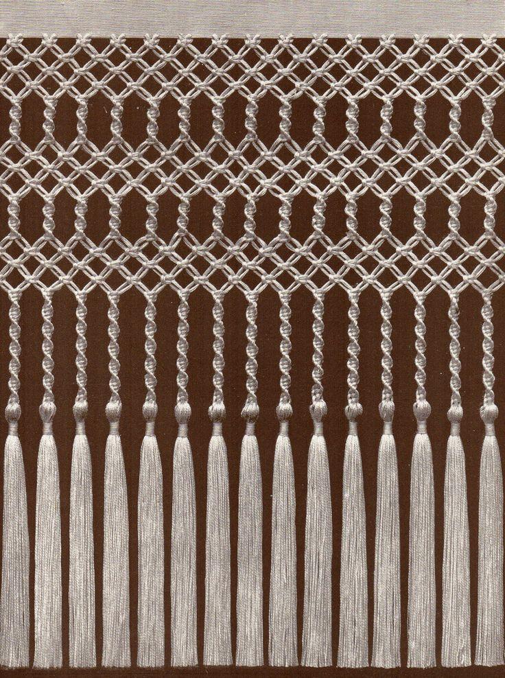 91 besten makramee bilder auf pinterest makramee anleitung weben und anleitungen. Black Bedroom Furniture Sets. Home Design Ideas
