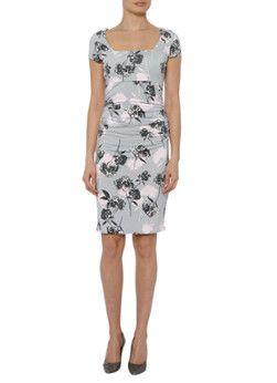 Bijenkorf    Phase Eight Eden Dress GreyPink 08 57,50
