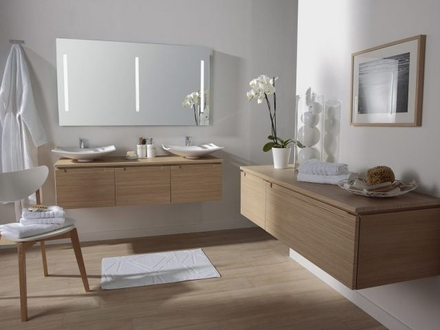 50 best salle de bain images on pinterest bathroom. Black Bedroom Furniture Sets. Home Design Ideas