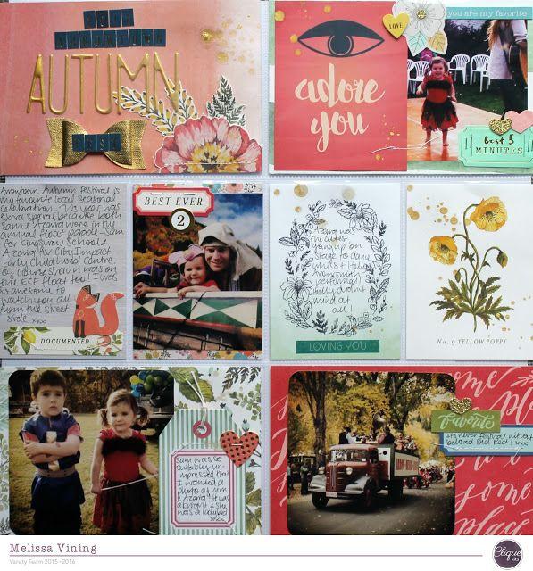 Arrowtown Autumn Festival Pocket Page (Clique Kits)