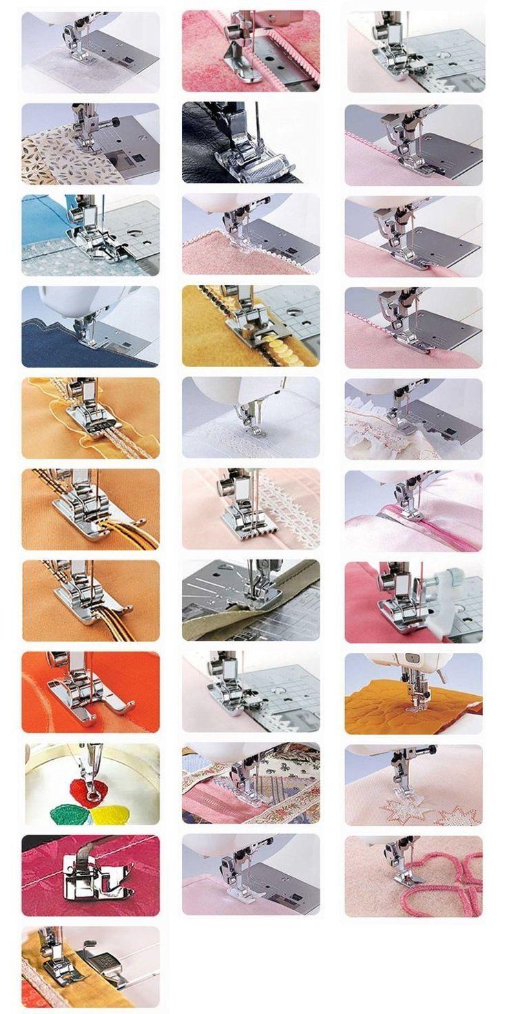 FlyRay 32pezzi per Cucire Macchina Presser Piedi Set casalinghi elemento servizi strumento Sundries casa accessorio