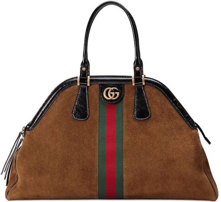 c44f9c1795ad Shop for RE(BELLE) large top handle tote by Gucci at ShopStyle.com ...