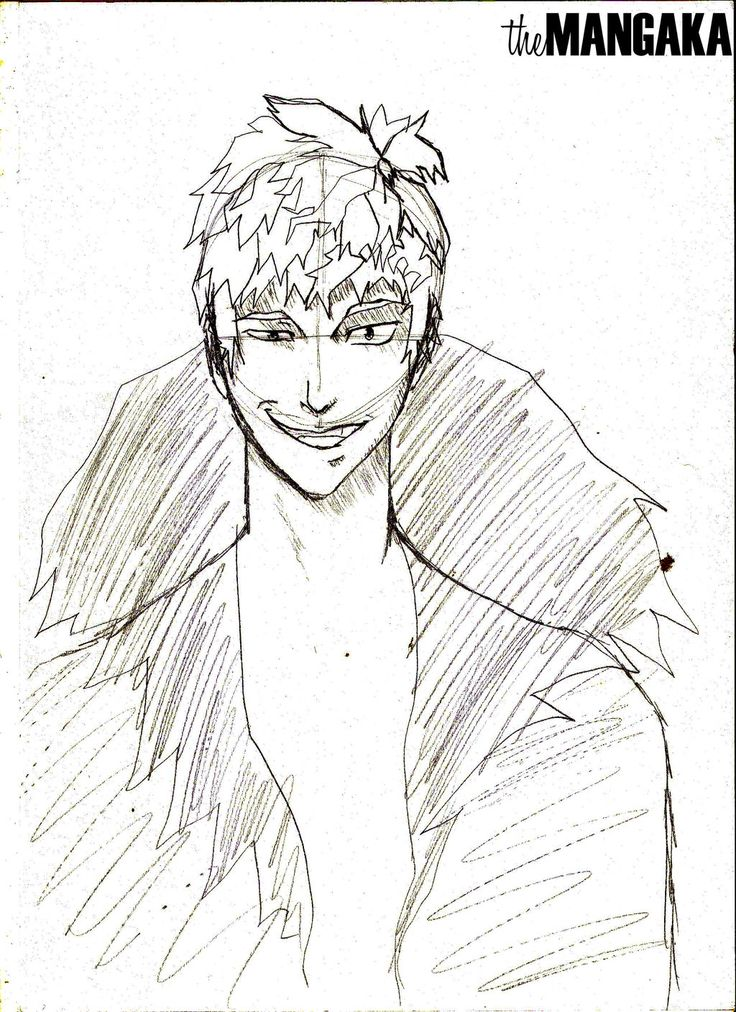 Evil Anime/Manga Male Character Design by MangakaOfficial.deviantart.com on @deviantART