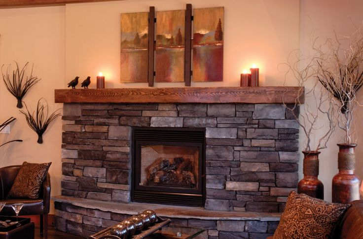 Rustic Wood Burning Stove Ideas Fireplace Ideas Photo