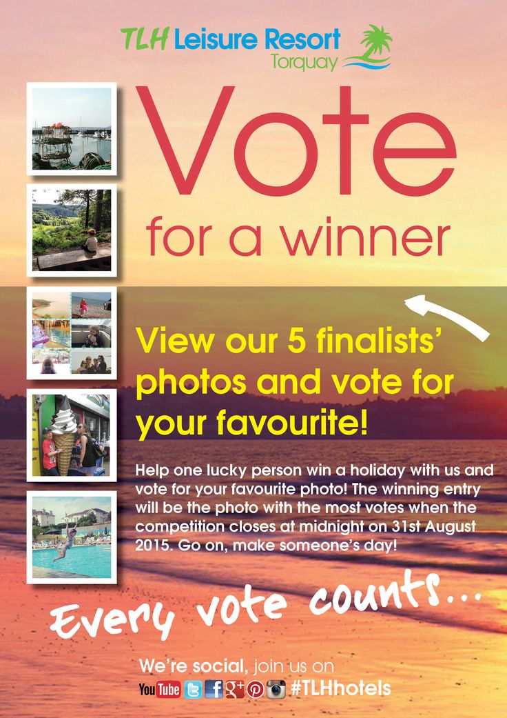 #TLHhotels  Well done to our 5 finalists! View their photos, vote for your favourite and help one lucky person win a holiday for two with us by following this link: https://tlhcompetition.shortstack.com/f3LGsZ The winning entry will be the photo with the most votes when the competition closes at midnight on 31st August 2015. Every vote counts!