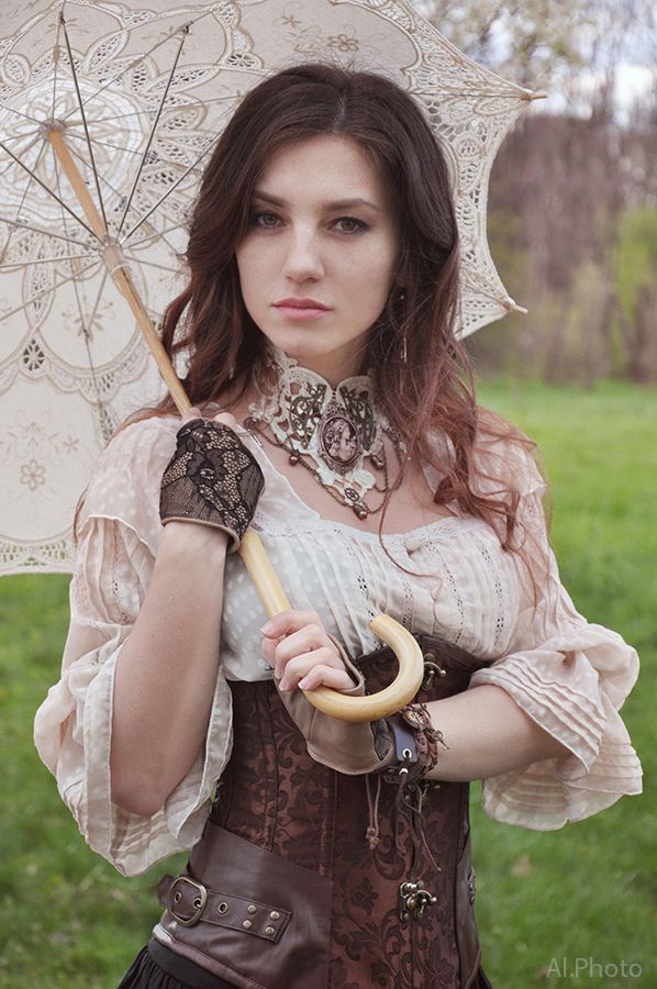 Steampunk Fashion | Rebecca Hamblin