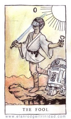 Google Image Result for http://roseredtarot.com/wp-content/uploads/2011/09/0Fool-Star-Wars-by-Elan-Rodgertrinidad.jpg @MJ Nelson