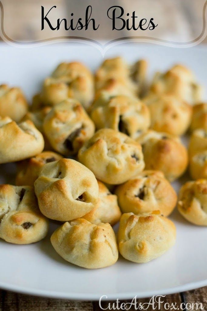 Appetizer and Super Bowl recipe week is continuing. Knish (make sure you pronounce the K) is an Eastern European snack that consists of a filling covered in dough and then baked, grilled, or fried. That's a pretty broad definition for sure. Today I'm sharing some Knish bites that are filled with...