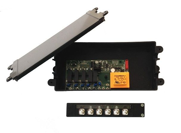 Electronic control system for hoods with mechanical keyboard FE1009