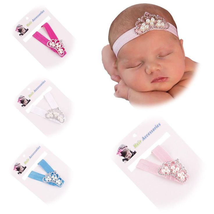 New 2017 Spring and Summer Children Headbands Girls Hair Accessories Baby Hair Band Alloy Rhinestone Baby Crown Headband //Price: $US $0.82 & FREE Shipping //     #hashtag1