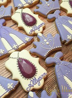 Cookie Momster by Hilary I Sofia the First Cookies