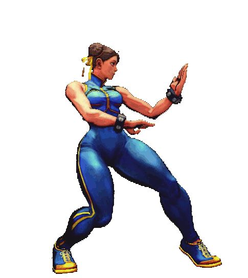 Street fighter 5 chun li gif