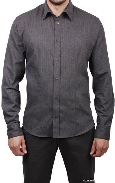 Тёмно серая рубашка