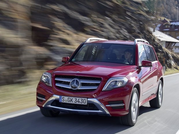 The #Mercedes GLK is still one of the best-looking compact SUVs around. #cars
