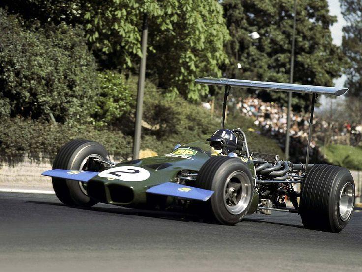 1969 Pau Grand Prix Lotus 59B Graham Hill