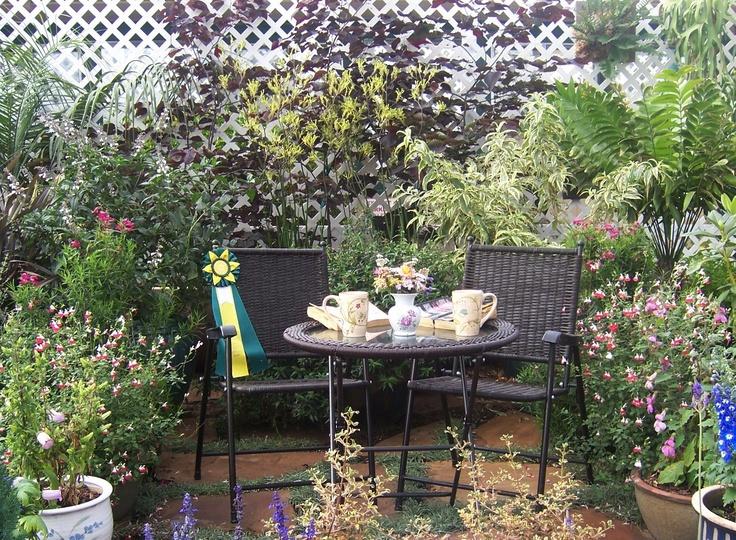 Patio Gardening Ideas Making Private Patio Garden Ideas