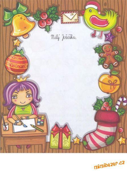 Dopis Ježíškovi kreativní aktivity pro děti
