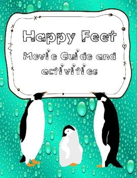 Happy Feet includes: Fun movie questions and activities about the movie. Buy the document and choose the ativities you want to use #pewnguin #happyfeet #feet #winter #moviequestions #movie #questions