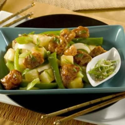 Sweet and Sour Pork IIIPork Recipe, Pork Iii, Mouthwatering Sweets, Sour Sauces, Sour Pork, Stirfry Vegetables, Cubes Pork, Sauces Preparing, Simple Ingredients