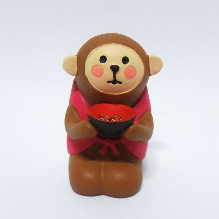 Concombre DECOLE Japan Cute Lovely Kawaii Figure Teacup Monkey #ConcombrebyDECOLE