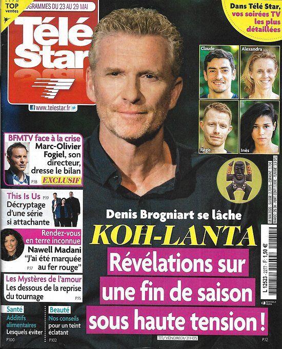 """Tele star n°2277 23/05/2020 """"kohlanta"""" révélations sur la"""