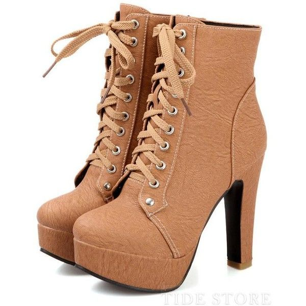 Splendid Multi Colour Lace-Up Stiletto Heels Short Boots ($43) ❤ liked on Polyvore featuring shoes, boots, ankle booties, tidestore, heels, short boots, short lace up boots, heeled booties, stiletto ankle boots and high heels stilettos
