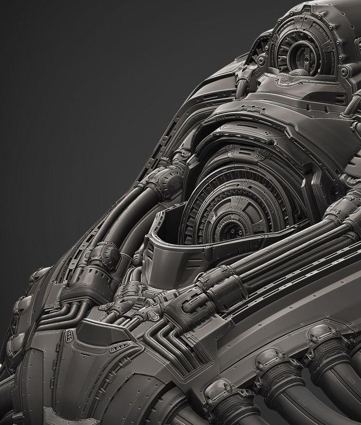 The Art of Brian Trochim - Environment Artist - Sci-Fi/Futuristic Works