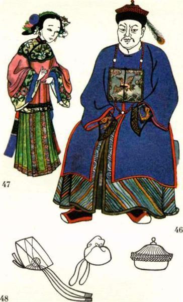 Костюм средневекового китая картинки женщина