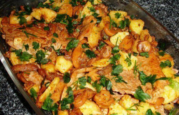 How to make Portuguese bifanas casserole.
