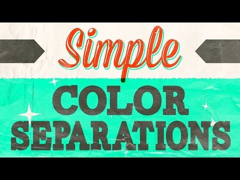 How to Create Color Separations in Photoshop | Start Screen Printing Now