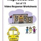 This set of 15 video response worksheets encourages students to focus on concepts presented in the Magic School Bus Science lessons. Magic School B...