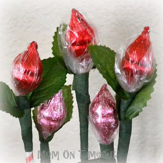 Hershey's Kiss Roses - A Sweet Valentine's Day Bouquet
