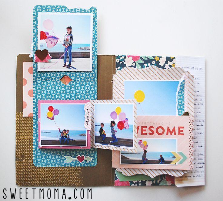 File folder scrapbooking sweet möma-010