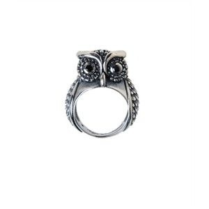 Owl ring. i need this in a size 12 for my thumb. size 11 for my first finger... 10 for my ring finger. 8 for my pinky... hopefully these sizes will go down as i lose weight.