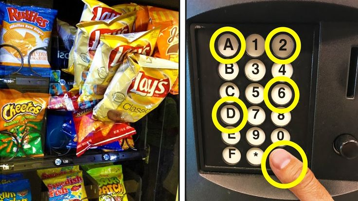 FREE HACK TO GET CHIPS FROM ANY VENDING MACHINE! (HOW TO GET FREE STUFF)