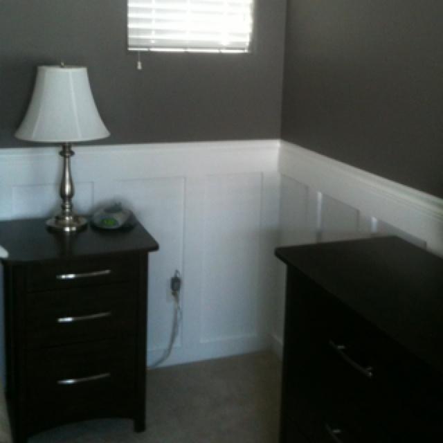 Bedroom, Master Bedroom, Wainscoting
