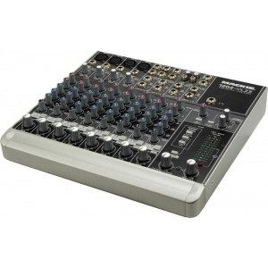 Mackie 1202-VLZ3 12 Channel Stereo Mixer  $269.99	 MSRP: $349.99	Save: $80.00 The Mackie 1202-VLZ3 is a serious professional compact mixer, with features that belie its small footprint. The ideal compact mixer for home and project studios, the 1202-VLZ3 is equally at home on the road, on the stage, or in the recording studio.