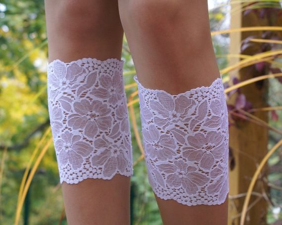 White Lace Boot Cuff Lace Leg Warmers Boot by coloratamarmellata, $14.00