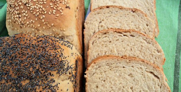 Pan granjero de centeno