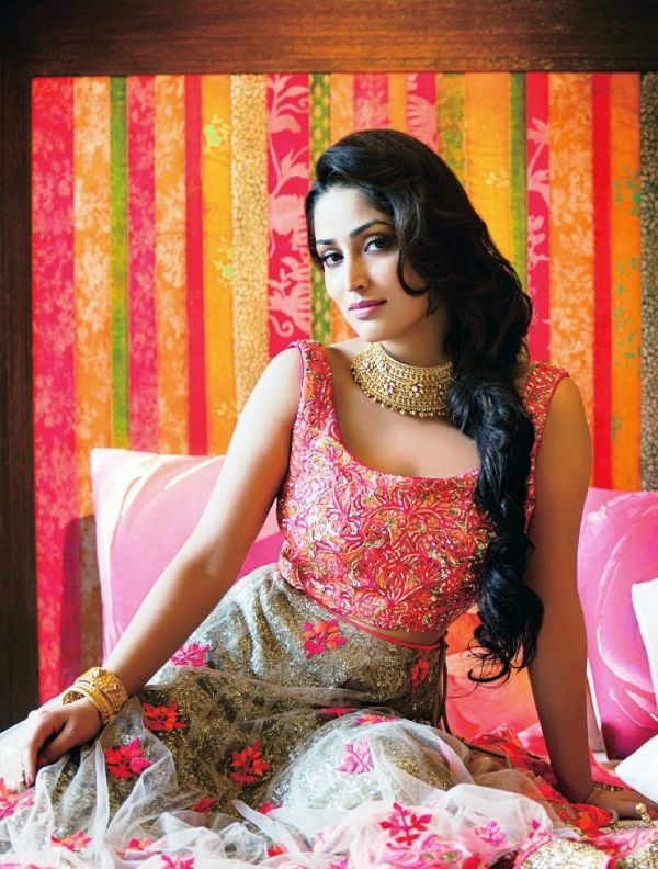Aaina - Bridal Beauty and Style: The Bride's Lookbook: Yami Gautam for Hi Blitz Magazine
