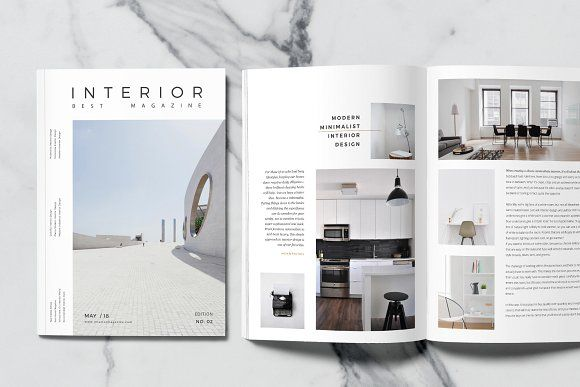 Minimal Interior Magazine Minimalism Interior Interiors