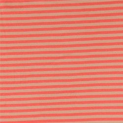 1x1 rib lys koral/lyserød garnfv. strib