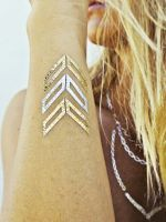 The Next Big Tattoo Trend Is Here — & It's Shiny | Flash Tattoos Lena | #refinery29