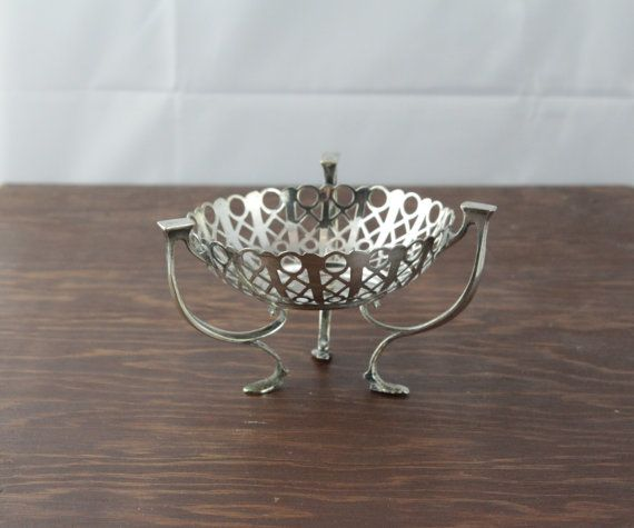 Vintage Silver Plated Dish by JBC & S Ltd.  by LoAndCoVintage