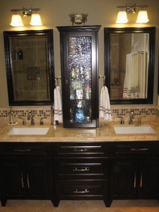 57 besten bathroom decor bilder auf pinterest badezimmer farbpaletten und halbes badezimmer. Black Bedroom Furniture Sets. Home Design Ideas