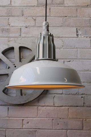 Pumphouse Pendant Light Submarine Styling Warehouse Shade Fat Shack Vintage